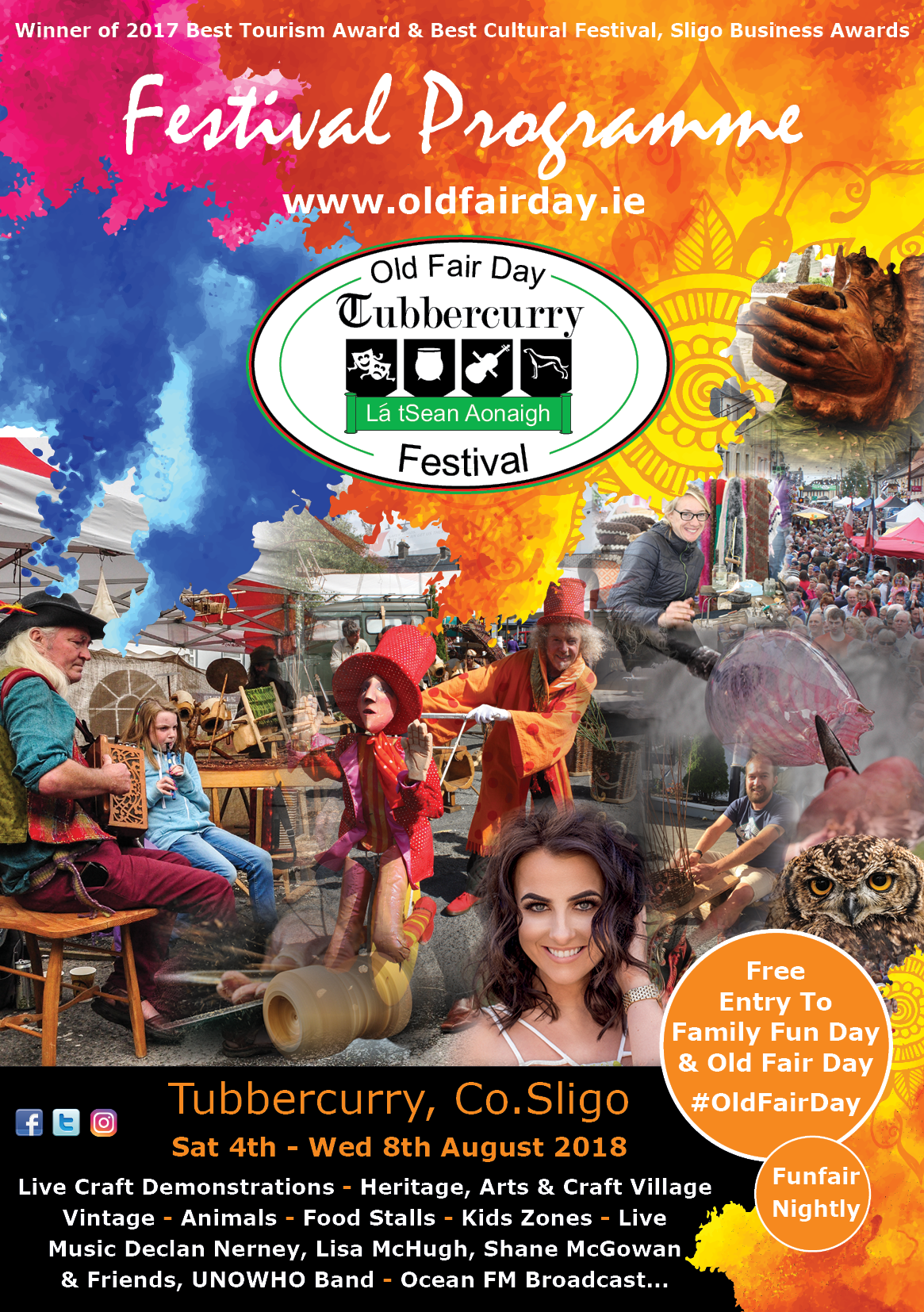 Tubbercurry Old Fair Day Festival Programme 20186