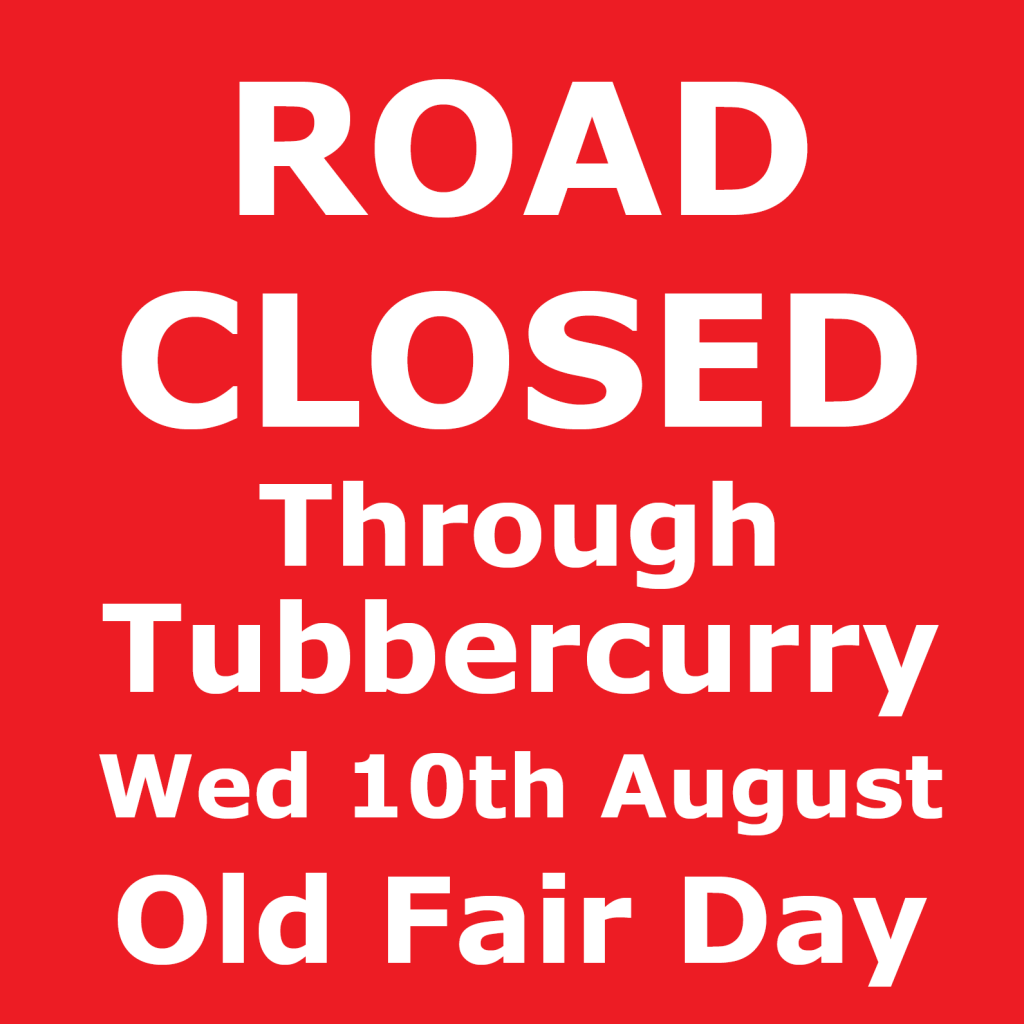 2016 OldFairDay_4x4ft_RoadClosed_New sign_print